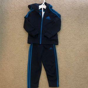 Adidas 2 Piece Sweatsuit